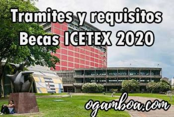 icetex requisitos 2020